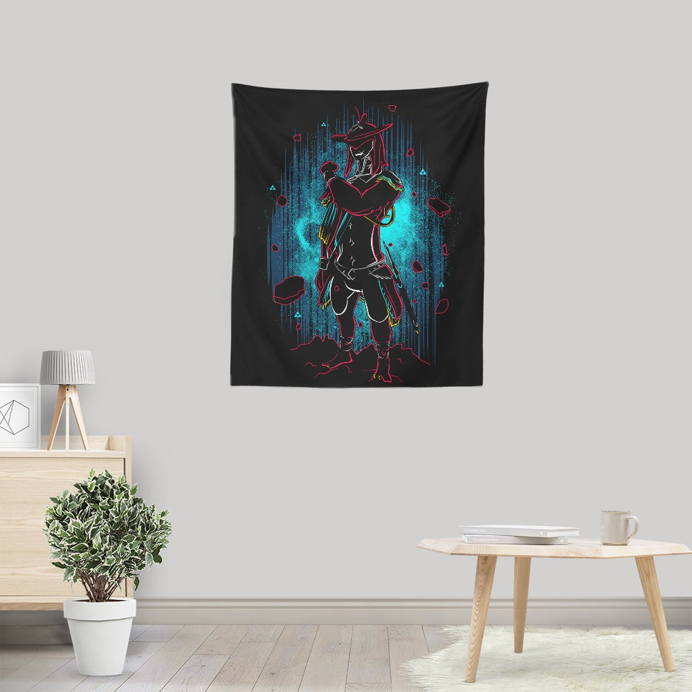 Shadow of the Domain - Wall Tapestry