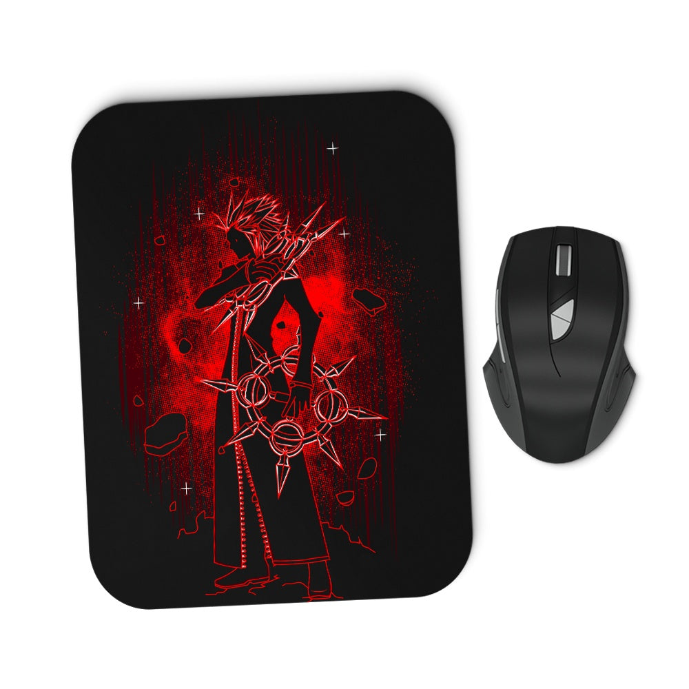 Shadow of the Flames - Mousepad