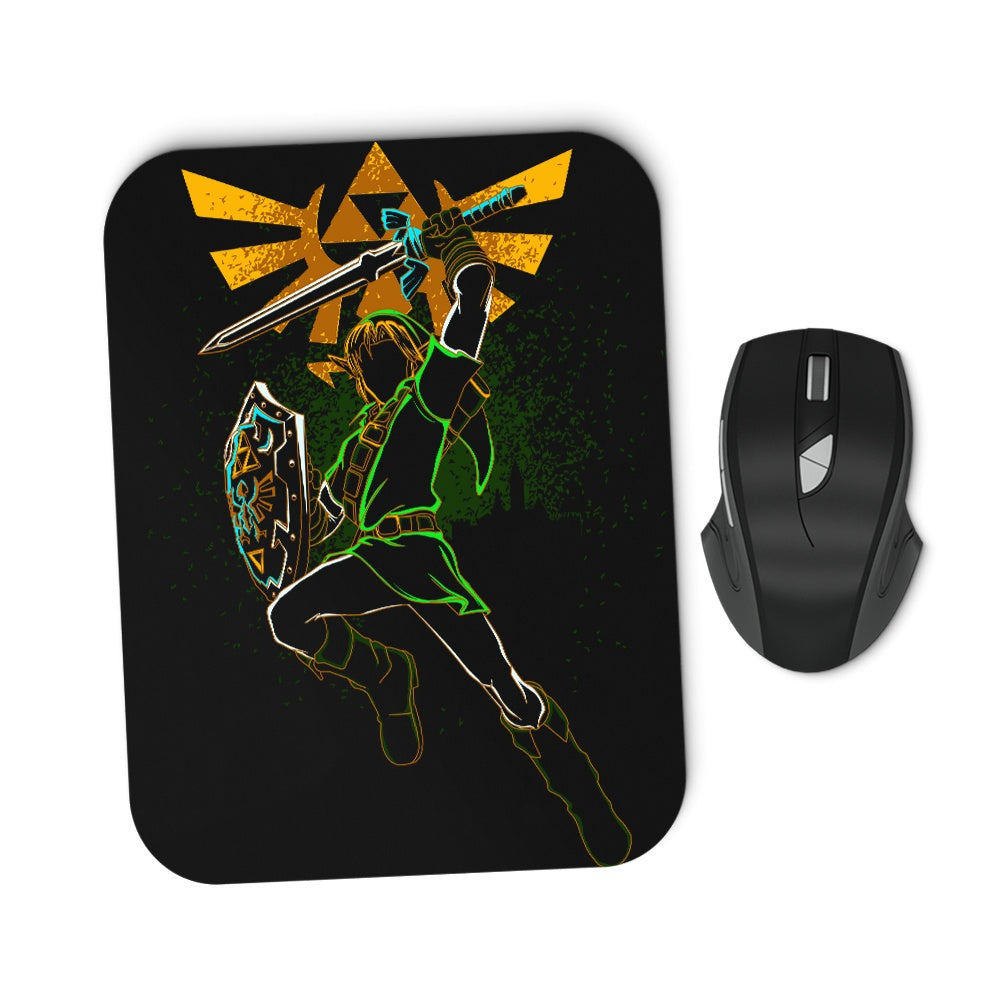 Shadow of the Hero - Mousepad
