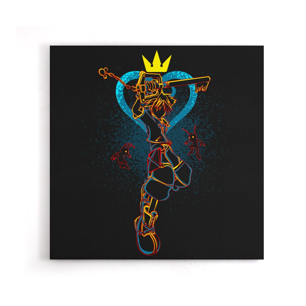 Shadow of the Keyblade - Canvas Print