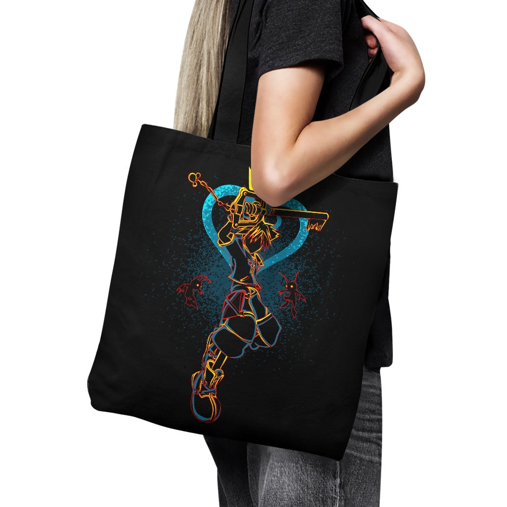 Shadow of the Keyblade - Tote Bag