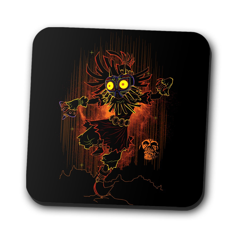 Shadow of the Mask - Coasters