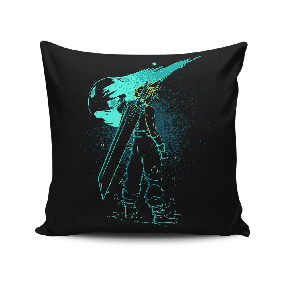 Shadow of the Meteor - Throw Pillow