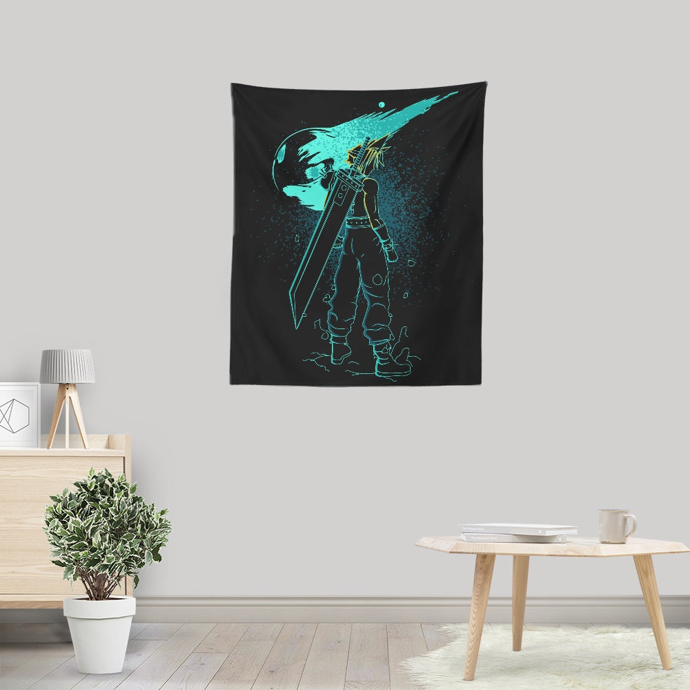 Shadow of the Meteor - Wall Tapestry