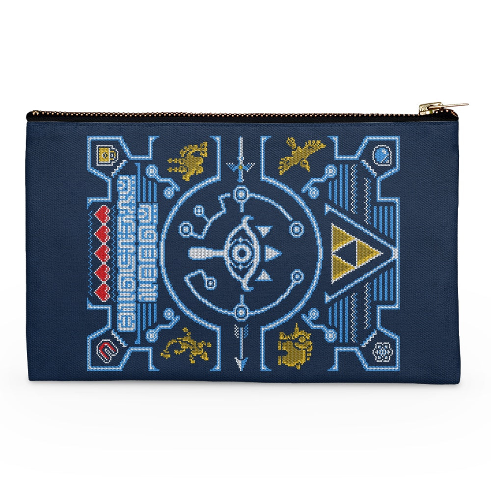 Sheikah Sweater - Accessory Pouch
