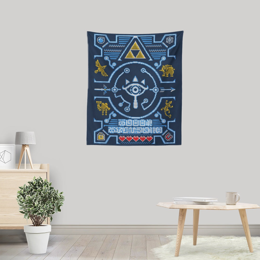 Sheikah Sweater - Wall Tapestry