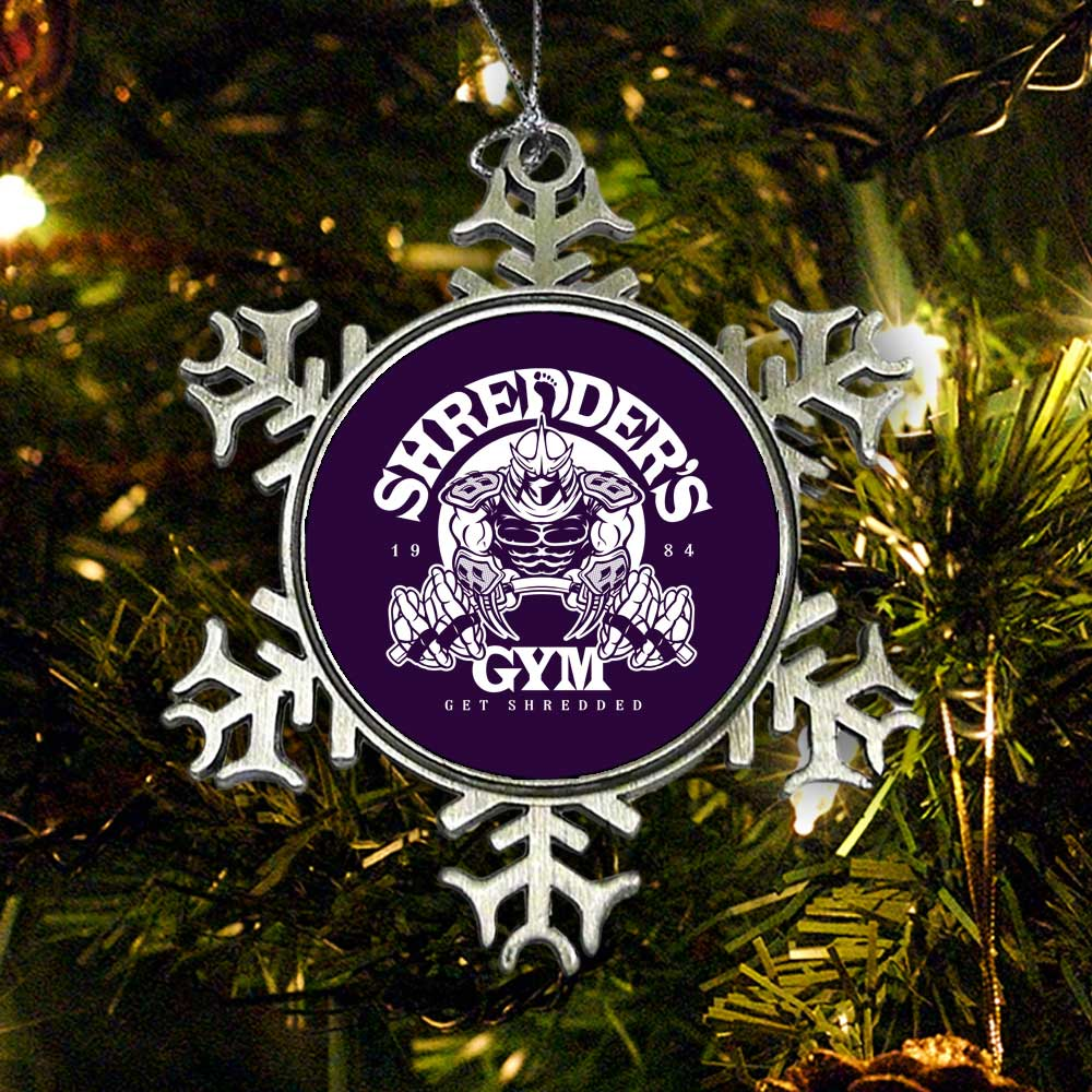 Shredder's Gym - Ornament