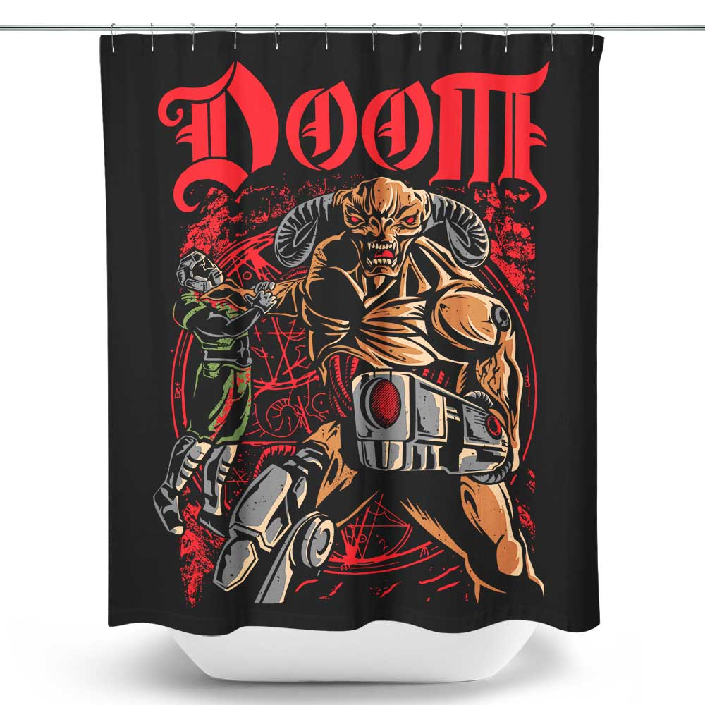 Slayers and Demons - Shower Curtain