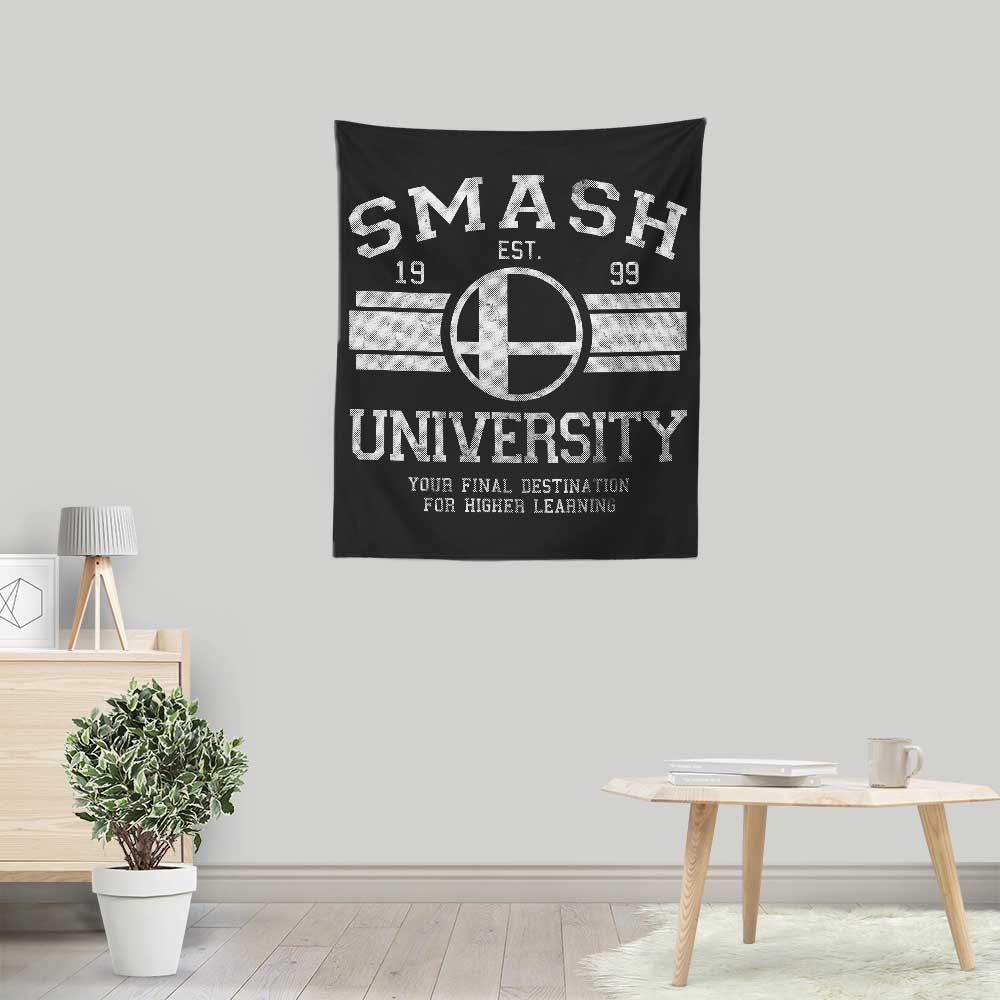 Smash University - Wall Tapestry