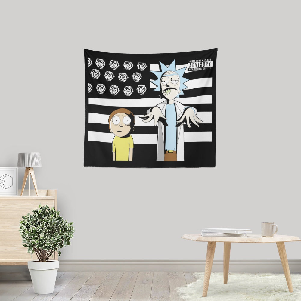 So Schwifty, So Clean - Wall Tapestry