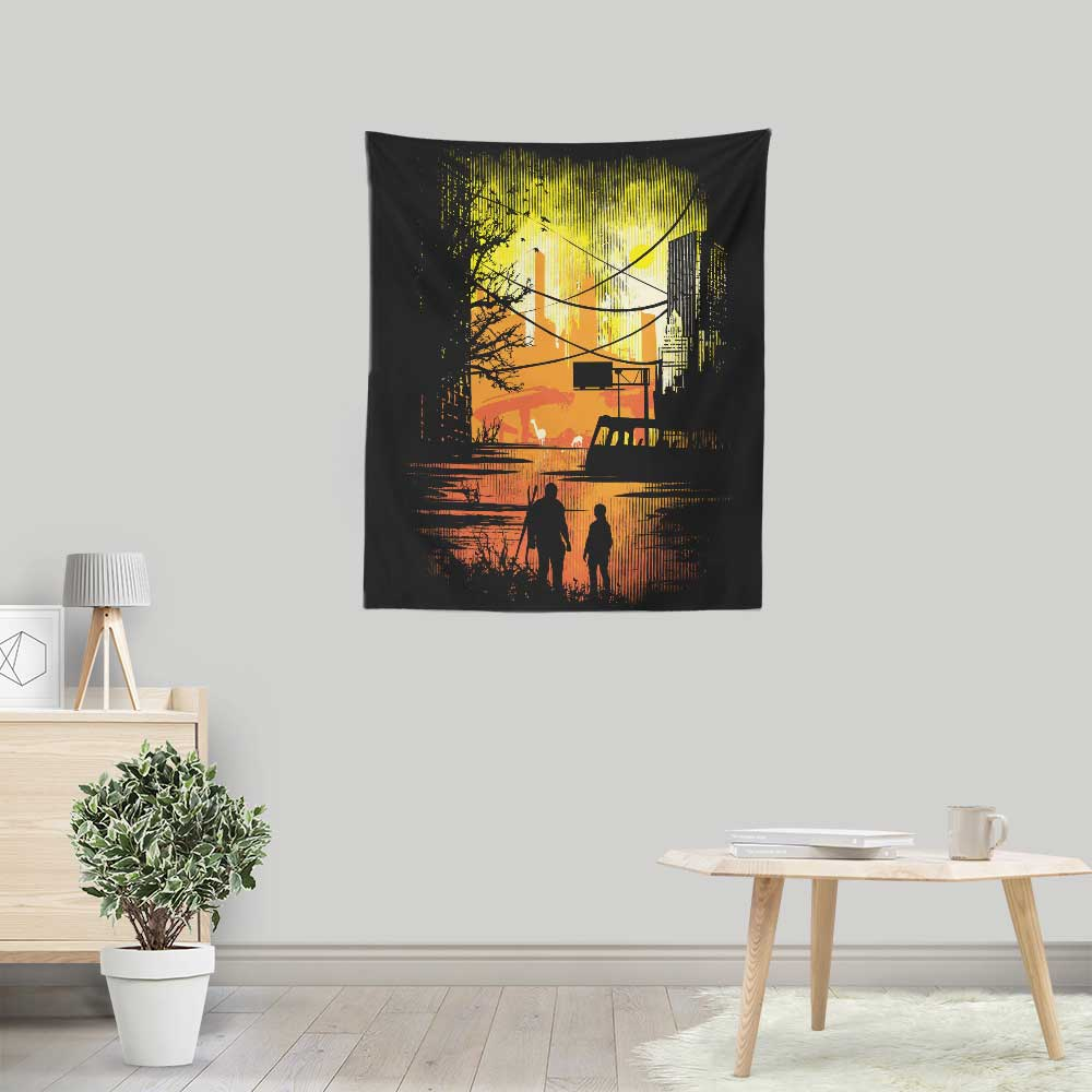 Sole Survivors - Wall Tapestry