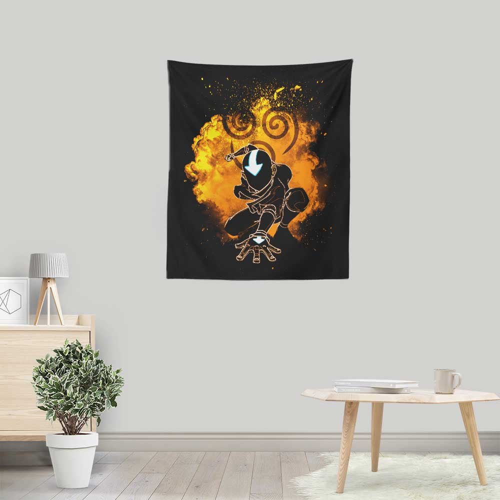Soul of Aang - Wall Tapestry