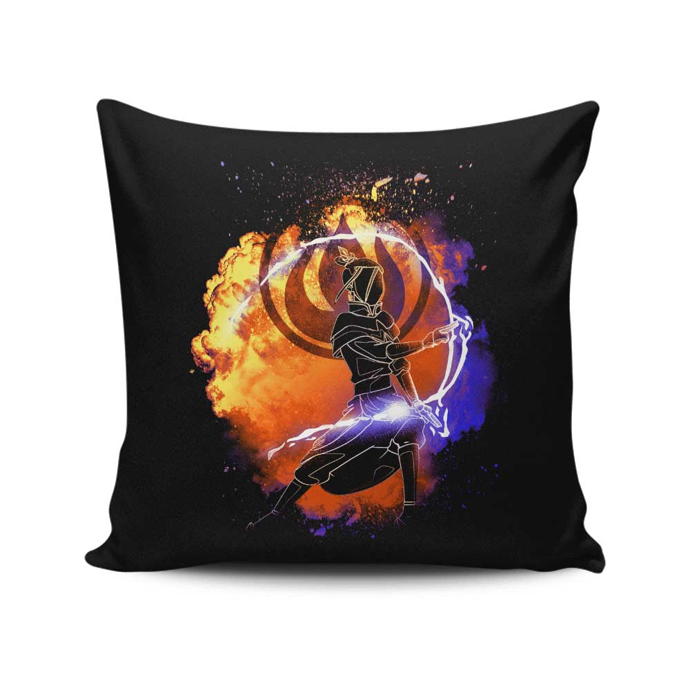 Soul of Fire Princess - Throw Pillow