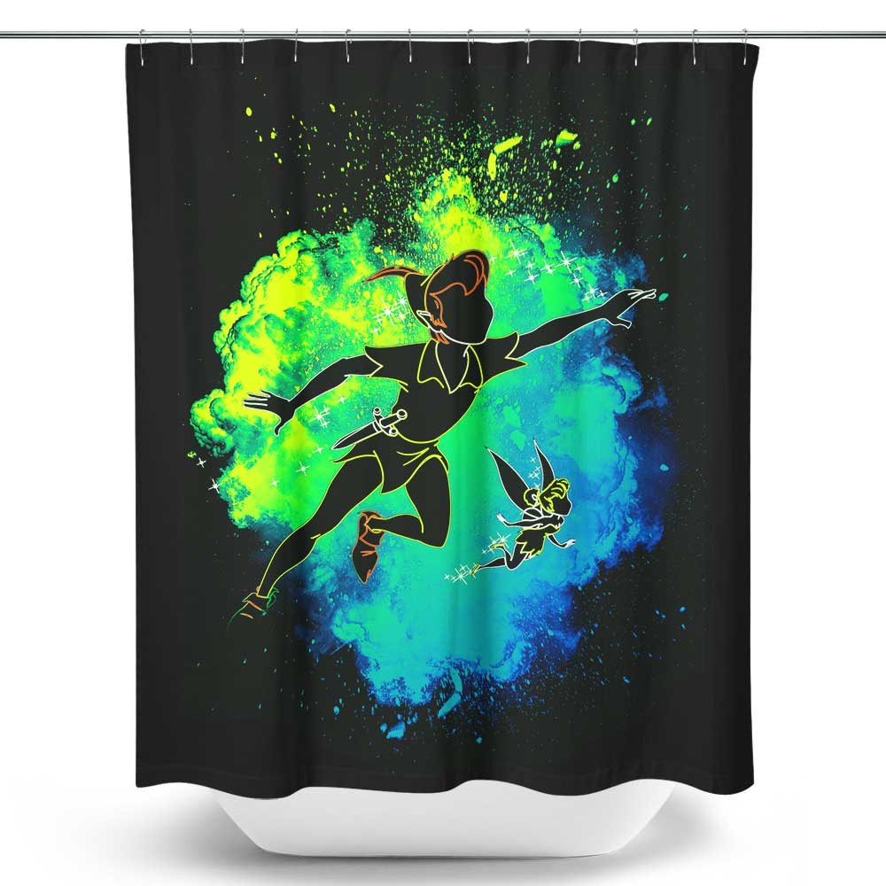 Soul of Neverland - Shower Curtain