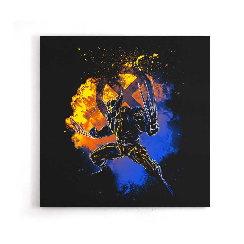 Soul of the Adamantium - Canvas Print