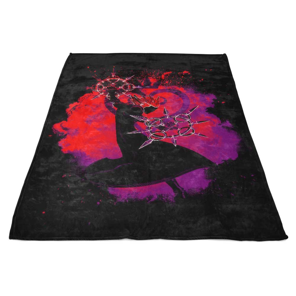 Soul of the Dancing Flames - Fleece Blanket