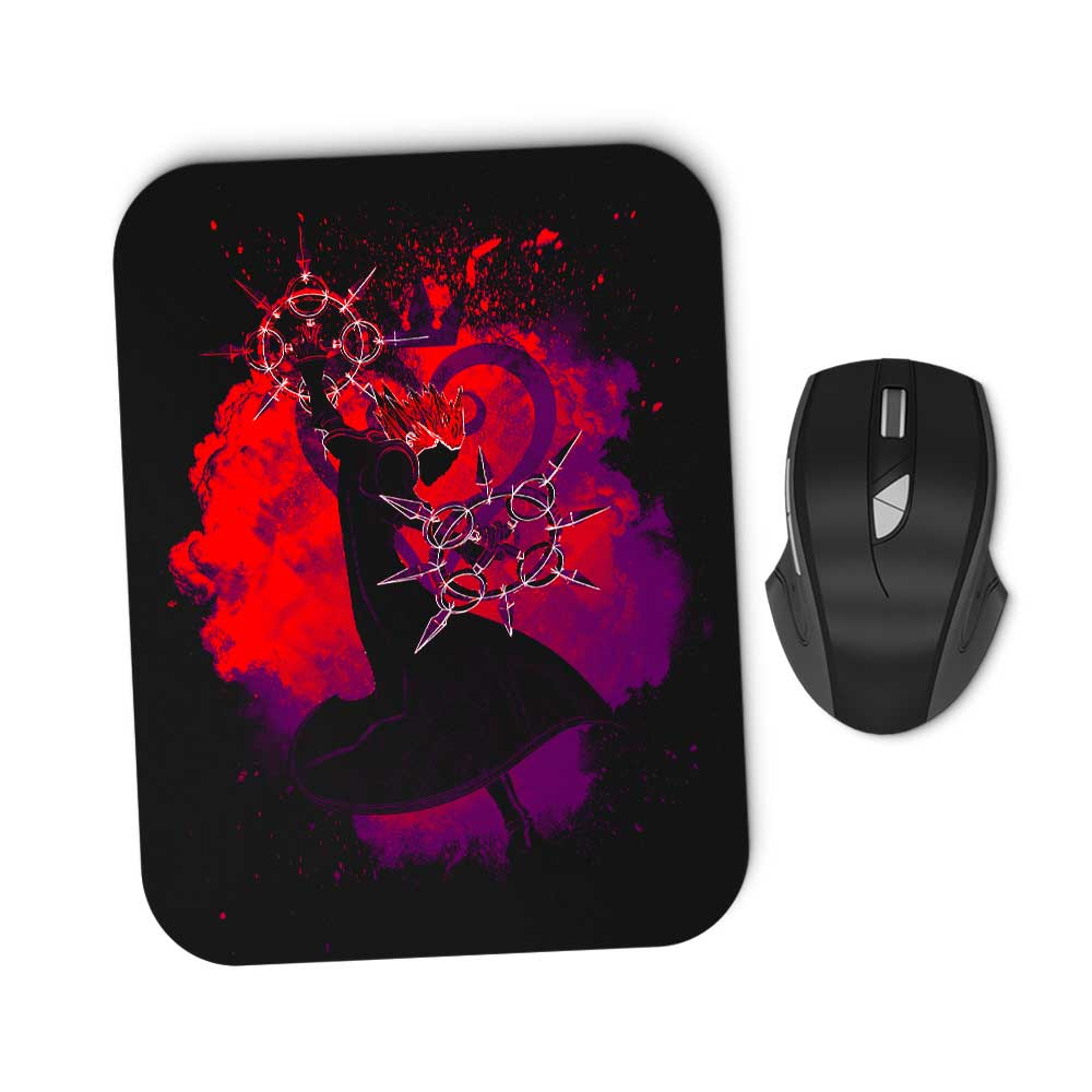 Soul of the Dancing Flames - Mousepad