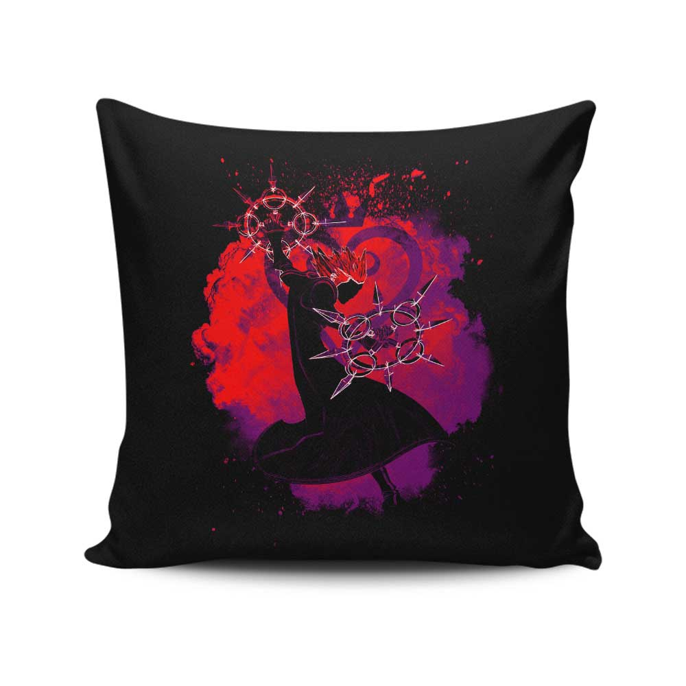 Soul of the Dancing Flames - Throw Pillow