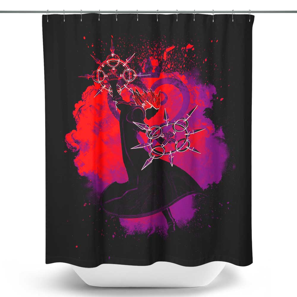 Soul of the Dancing Flames - Shower Curtain