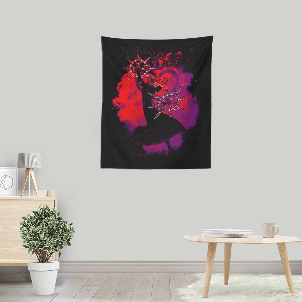 Soul of the Dancing Flames - Wall Tapestry