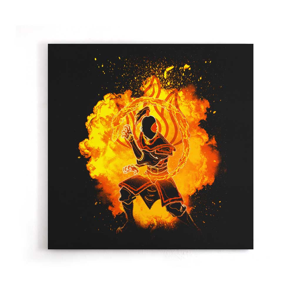 Soul of the Fire - Canvas Print
