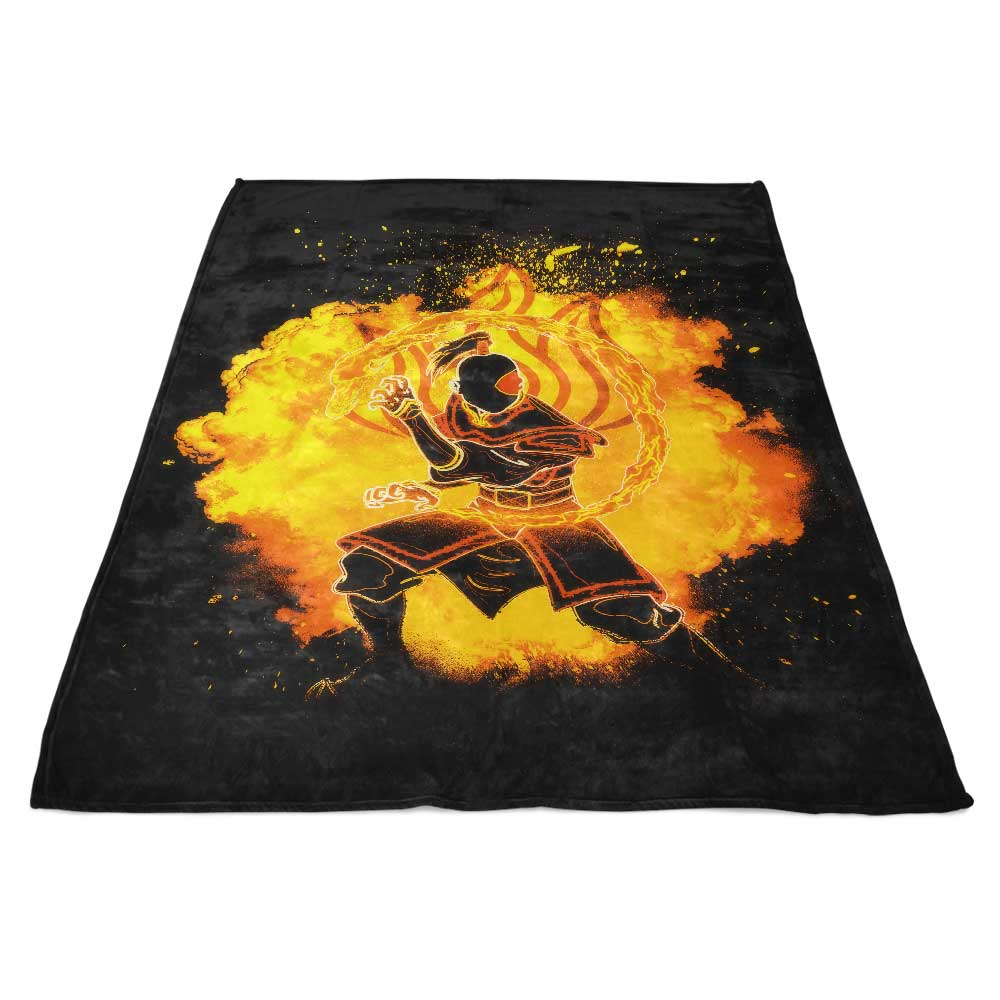 Soul of the Fire - Fleece Blanket