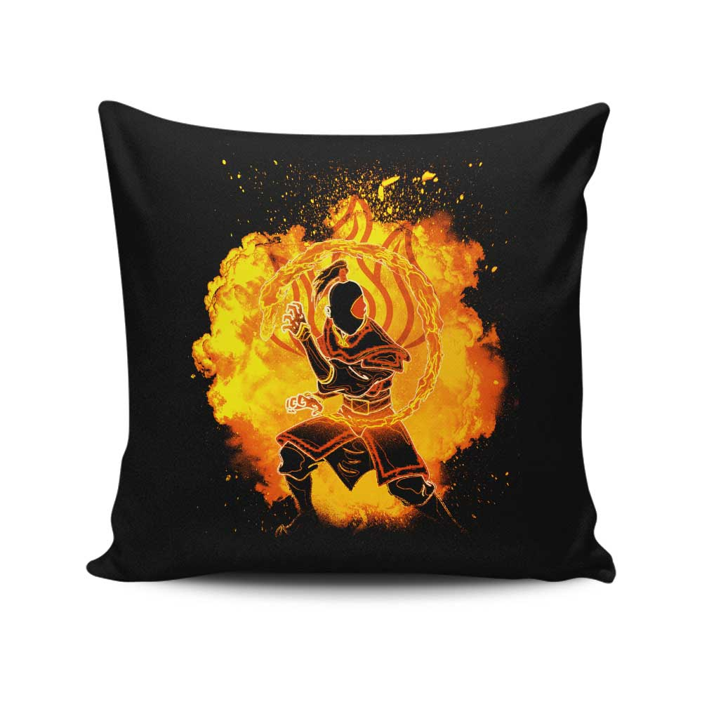 Soul of the Fire - Throw Pillow