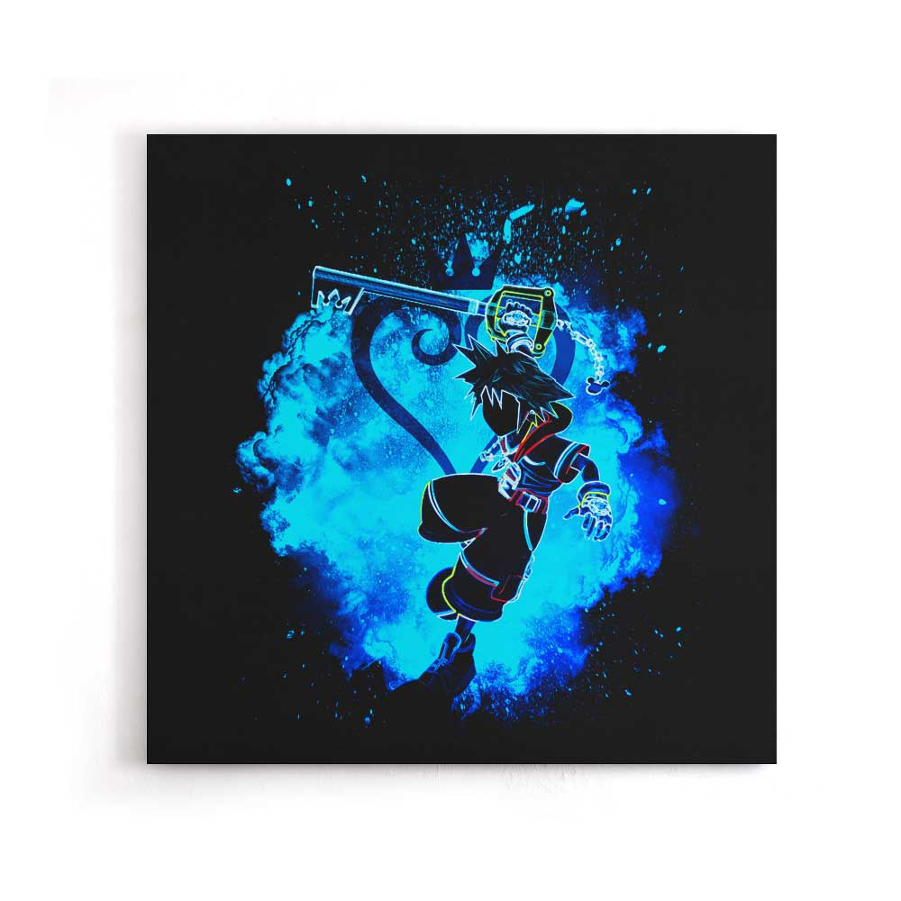 Soul of the Keyblade - Canvas Print