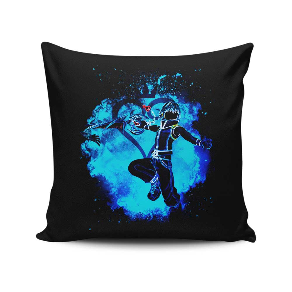 Soul of the Keyblade Master - Throw Pillow