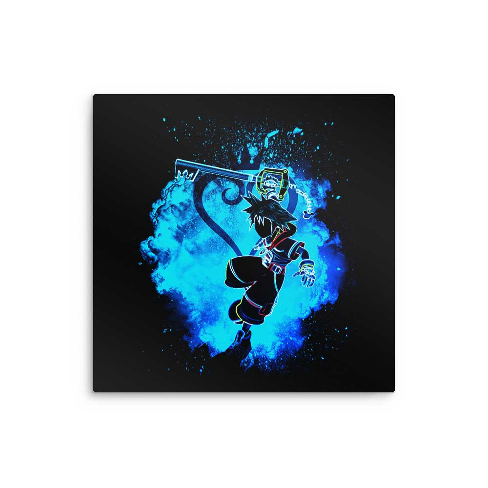 Soul of the Keyblade - Metal Print