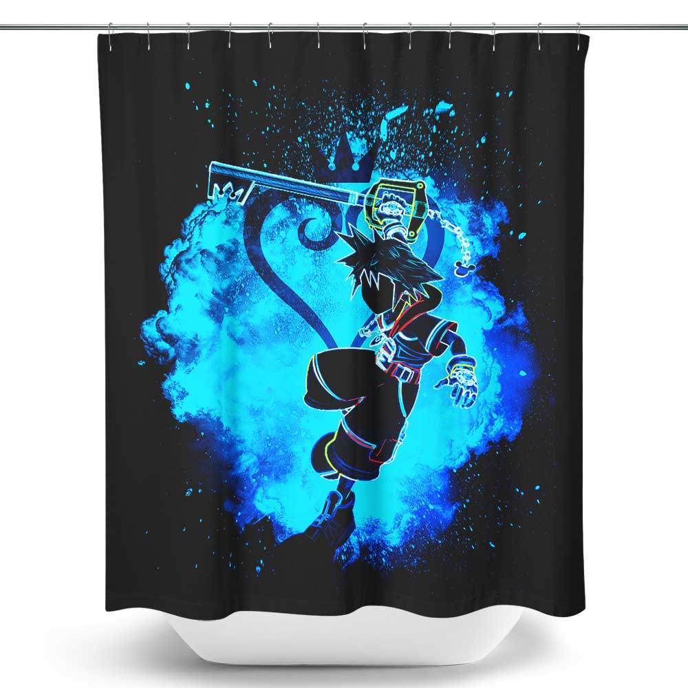 Soul of the Keyblade - Shower Curtain