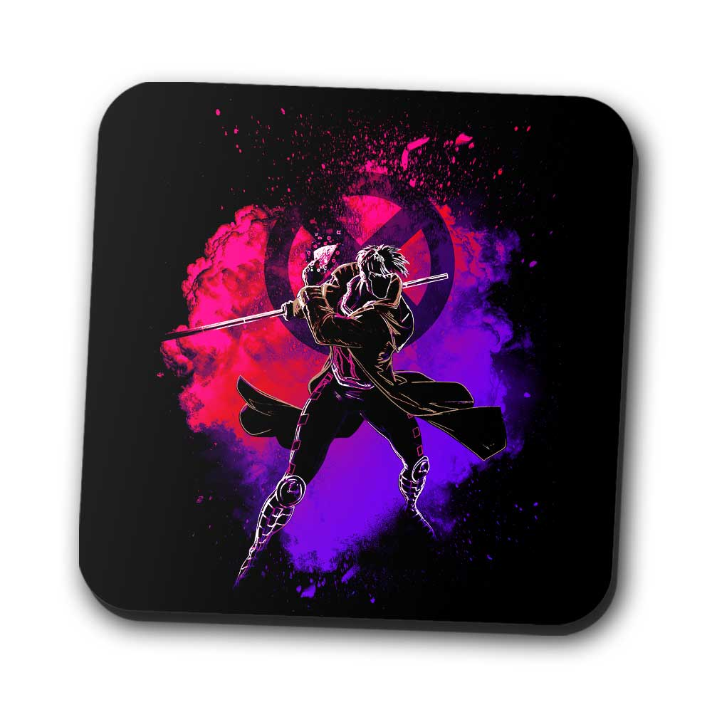 Soul of the Kinetic Card - Coasters