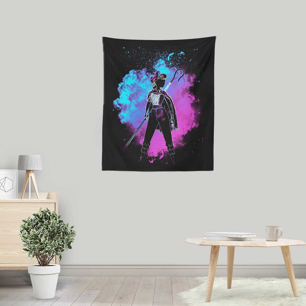Soul of the Shepherdess - Wall Tapestry