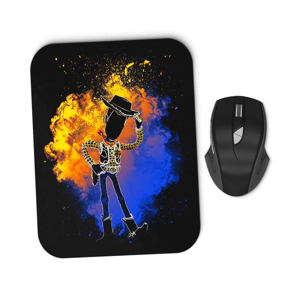 Soul of the Sheriff - Mousepad