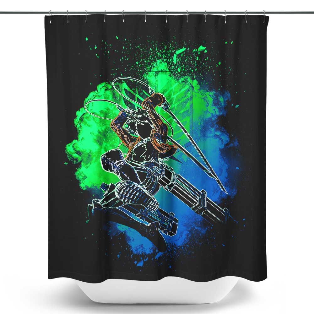 Soul of the Titan Boy - Shower Curtain