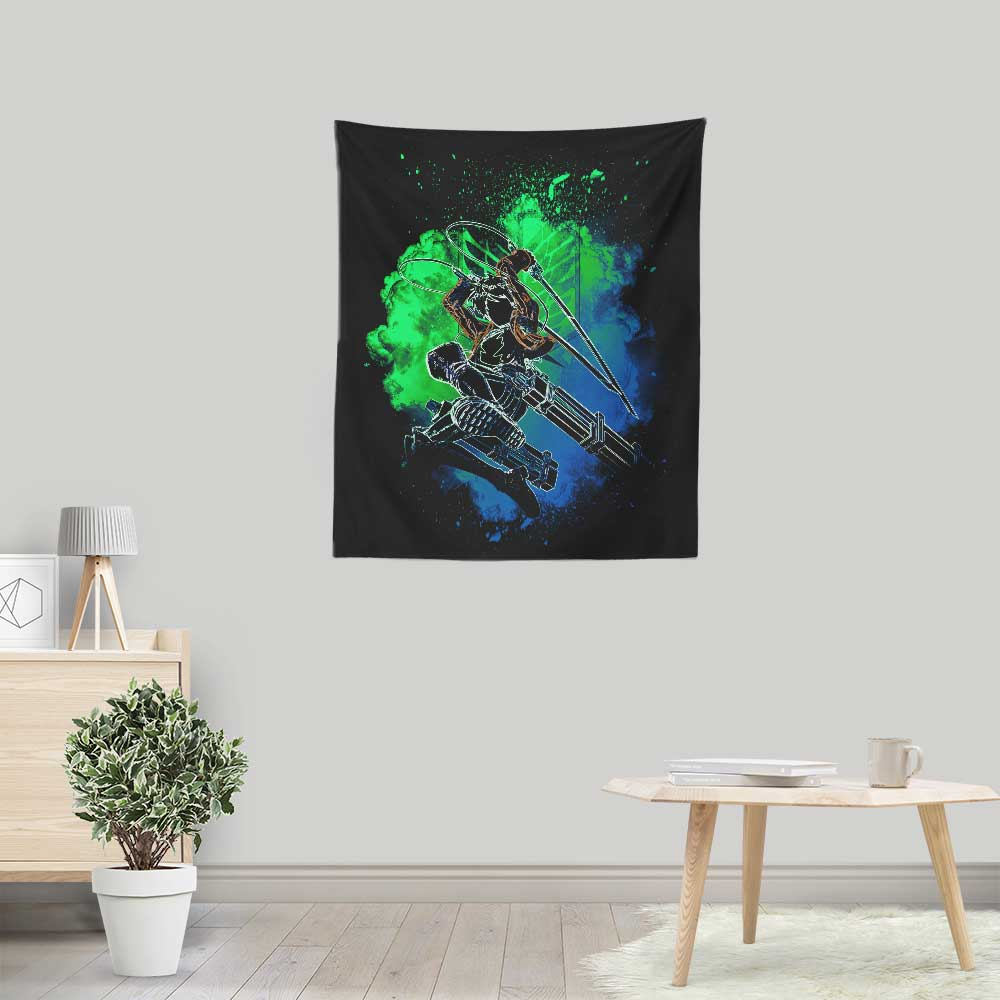 Soul of the Titan Boy - Wall Tapestry