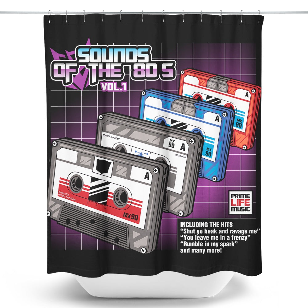 Sound of the 80's Vol. 1 - Shower Curtain