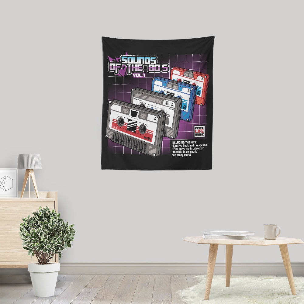 Sound of the 80's Vol. 1 - Wall Tapestry