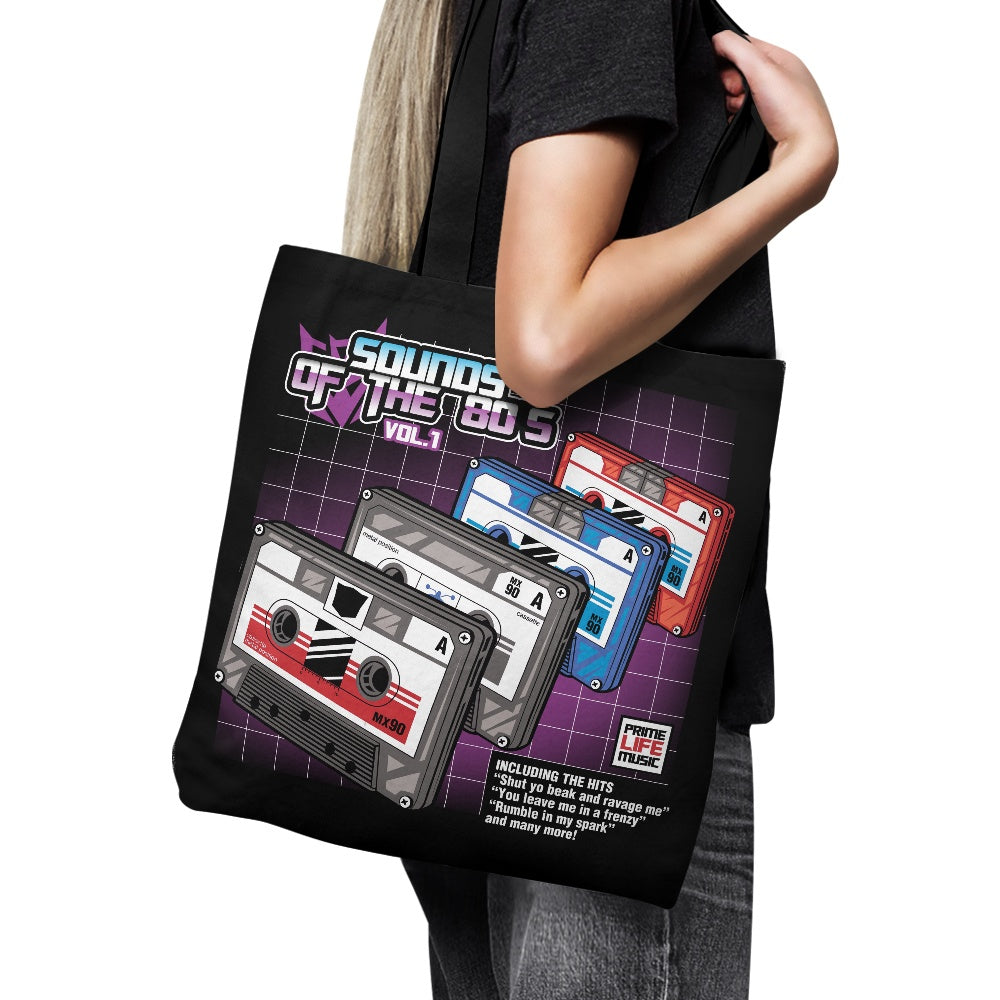 Sound of the 80's Vol. 1 - Tote Bag