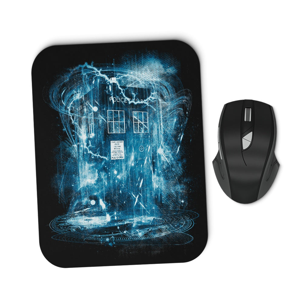 Space and Time Storm - Mousepad