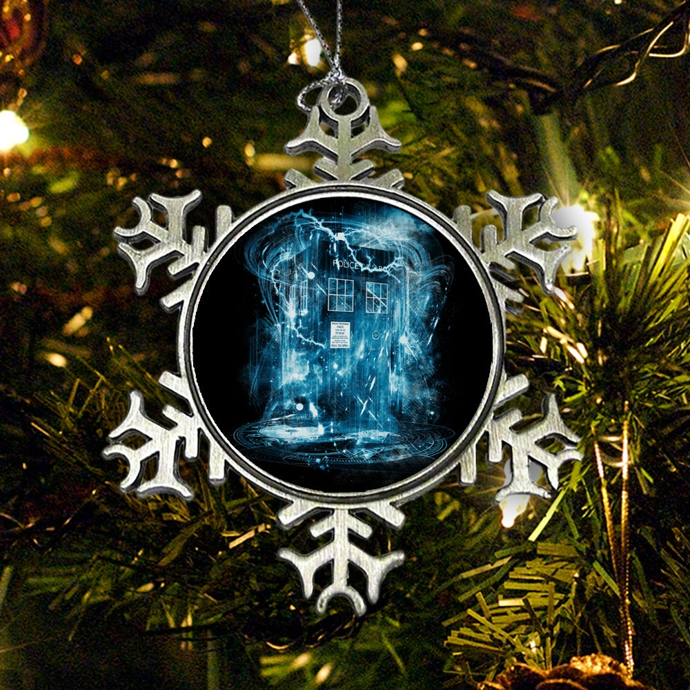 Space and Time Storm - Ornament