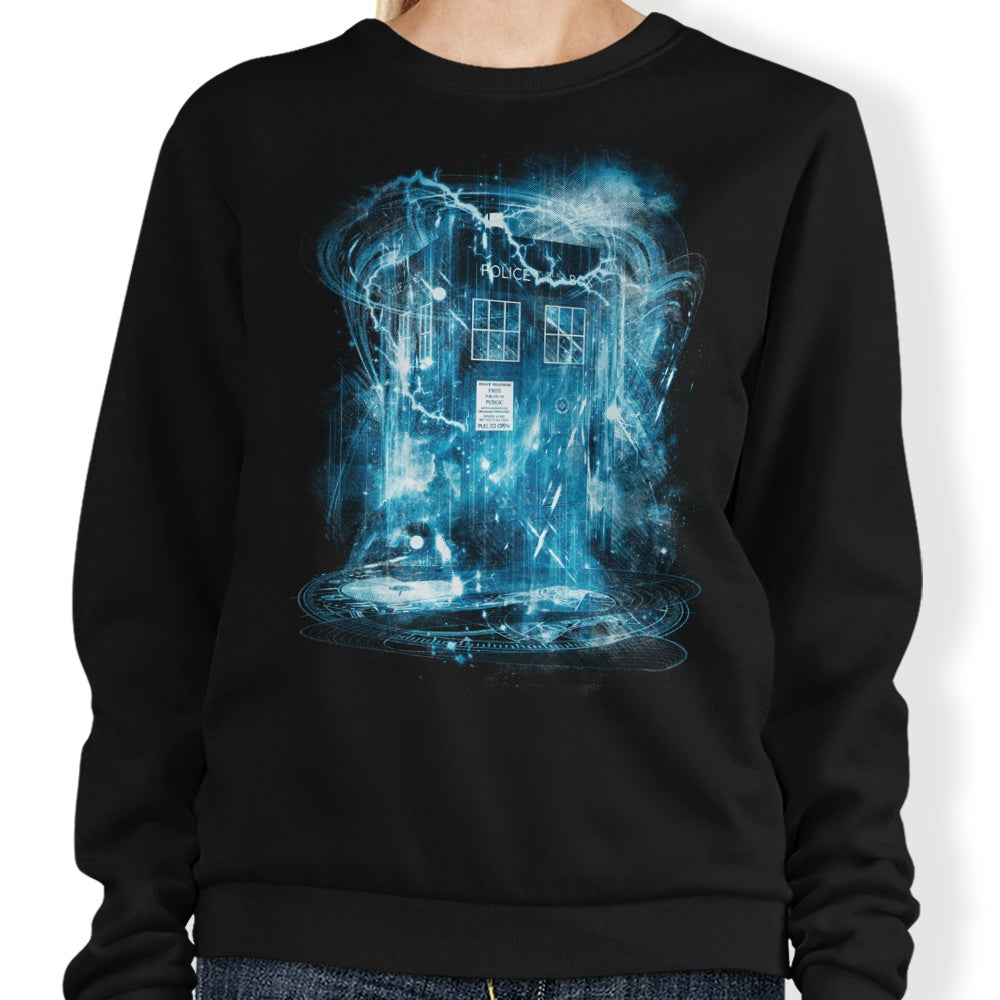 Space and Time Storm - Sweatshirt