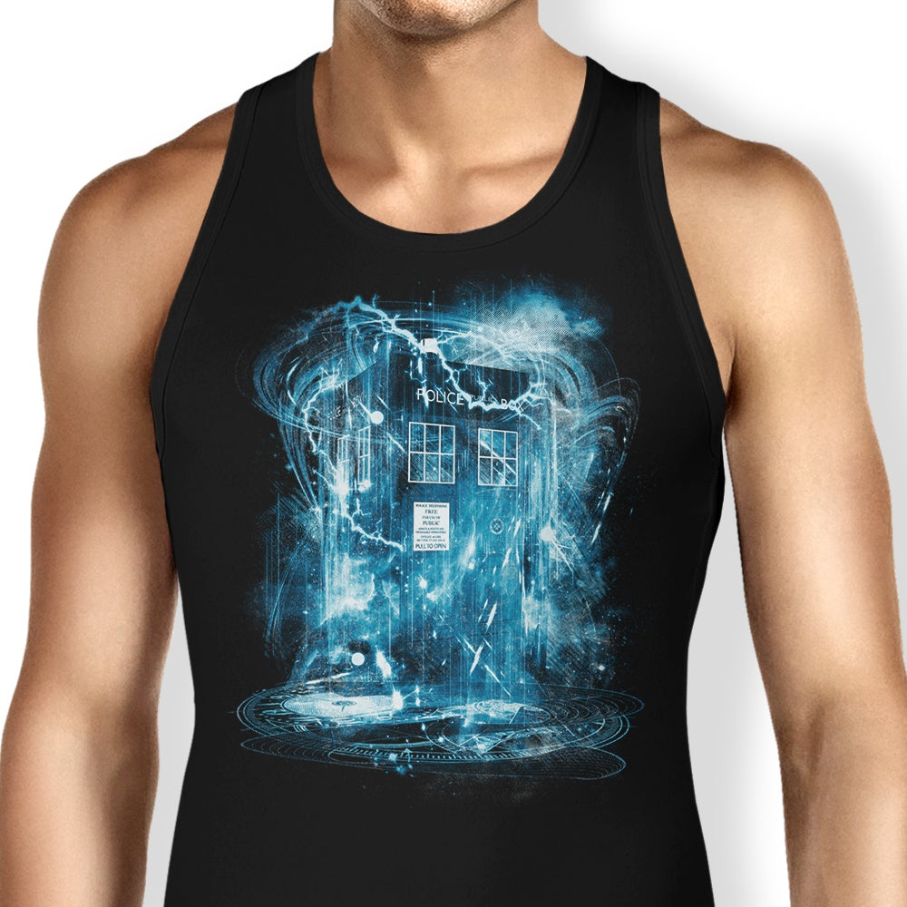 Space and Time Storm - Tank Top