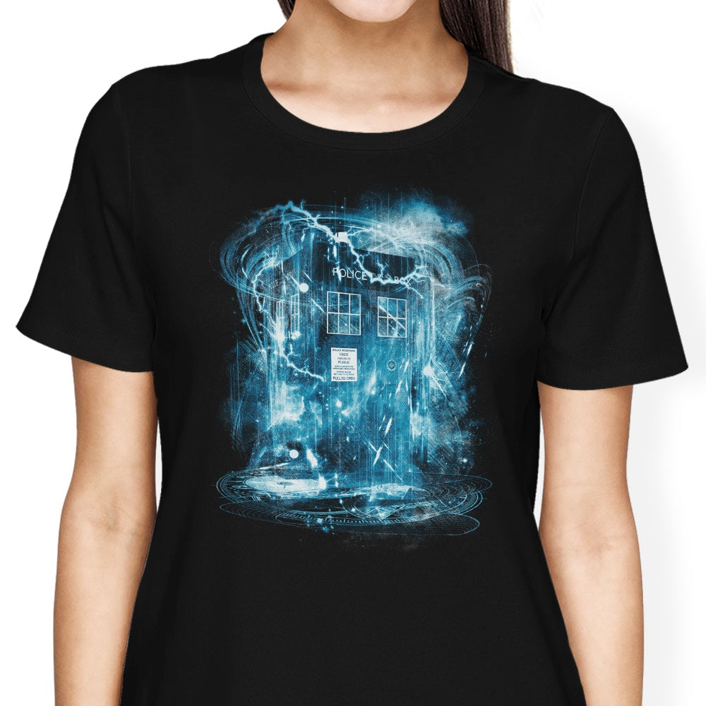 Space and Time Storm - Women's Apparel