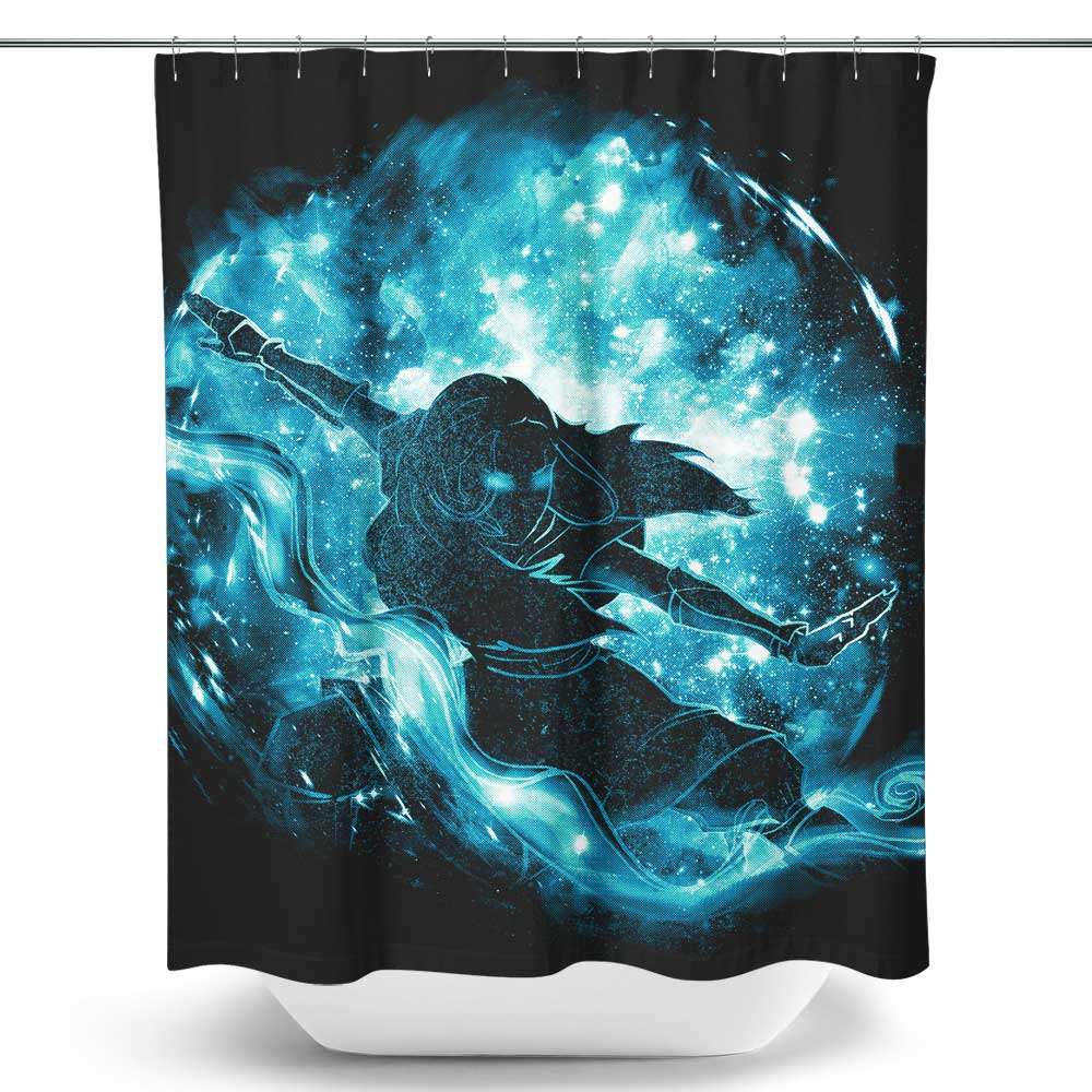 Space Water - Shower Curtain