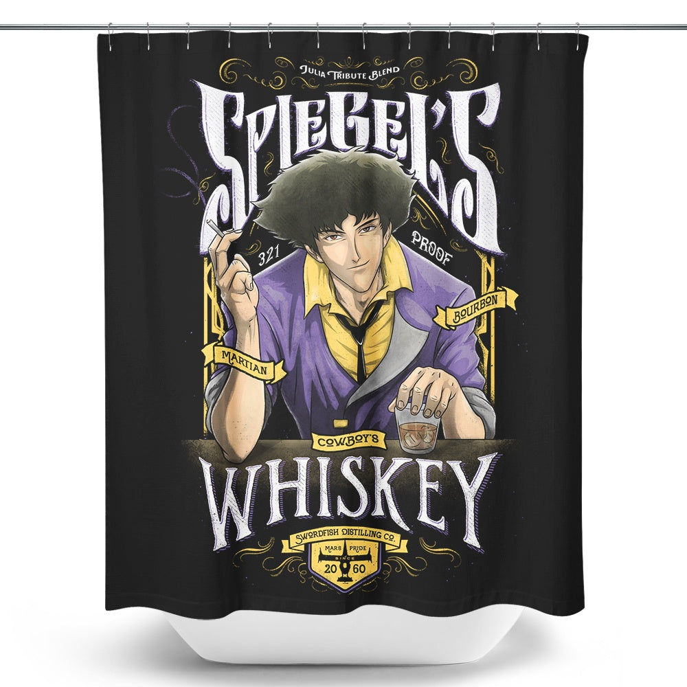 Spiegel's Whiskey - Shower Curtain