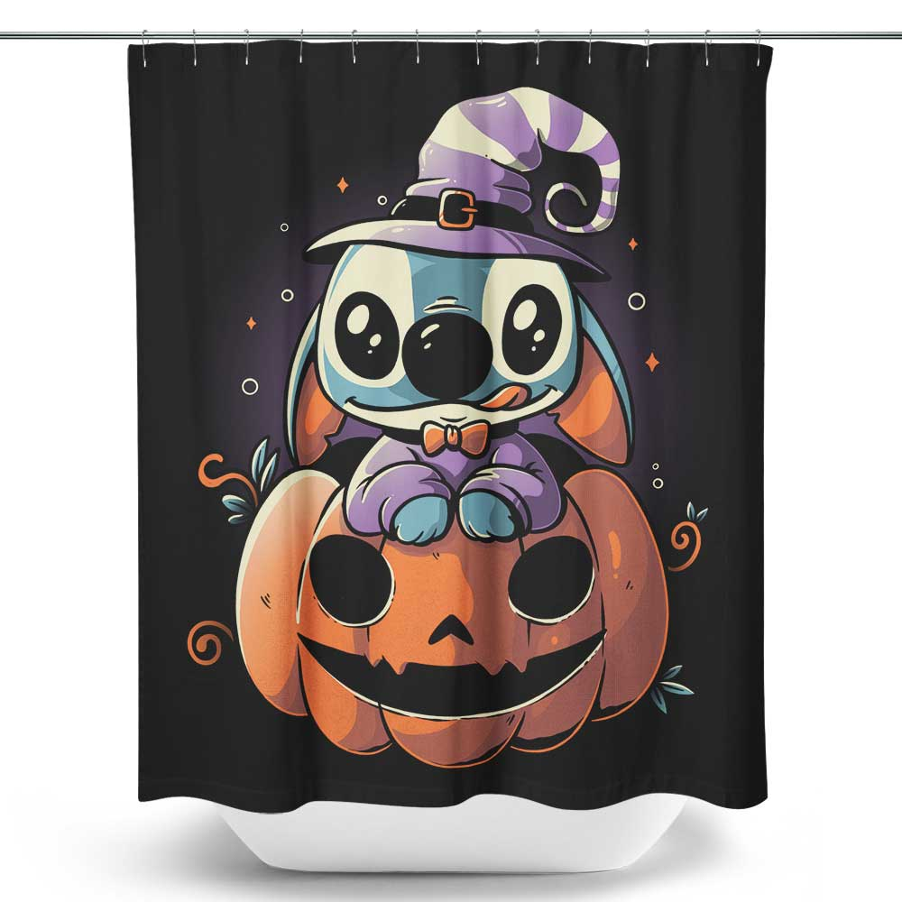 Spooky Experiment - Shower Curtain