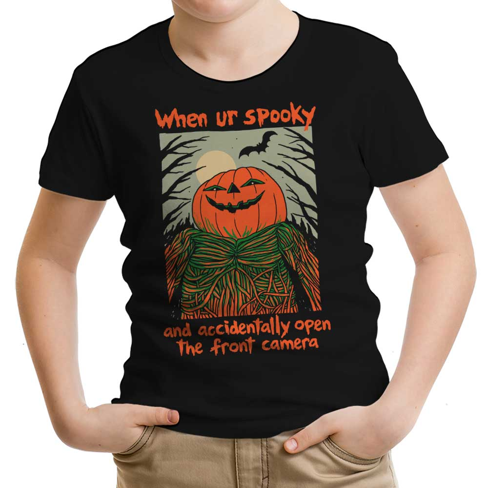 Spooky Selfie - Youth Apparel