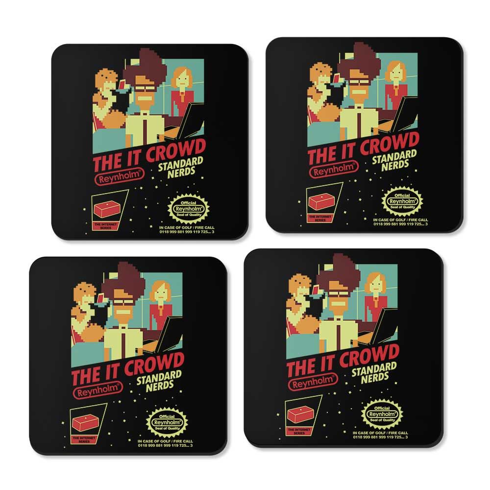 Standard Nerds - Coasters