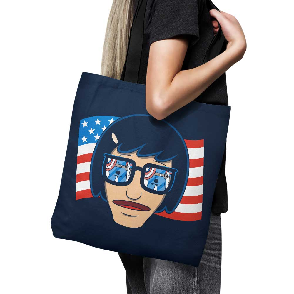 Star Spangled Butt - Tote Bag